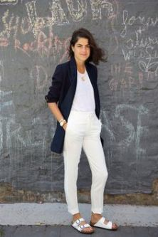 All white: Leandra Medine