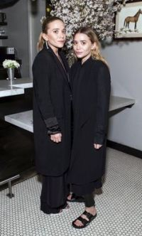 Night out: The Olsen twins